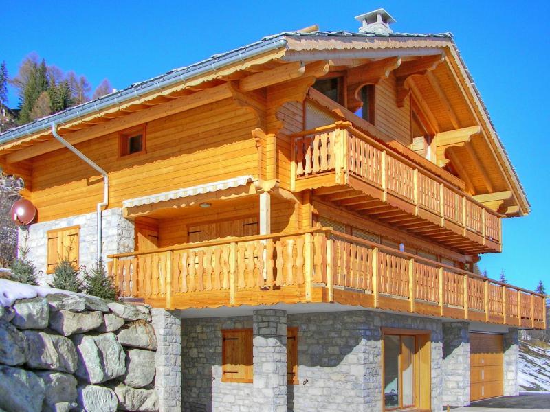 Location au ski Chalet Teychenne - Thyon - Extérieur hiver