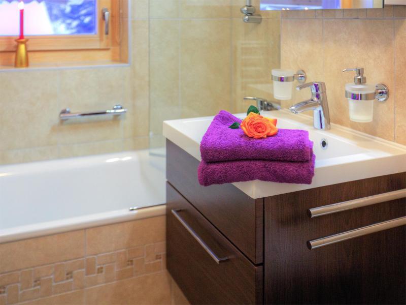 Rent in ski resort Chalet Teychenne - Thyon - Bathroom