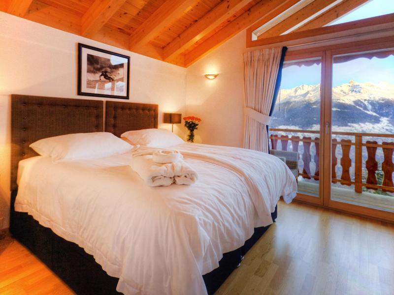 Location au ski Chalet Teychenne - Thyon - Chambre