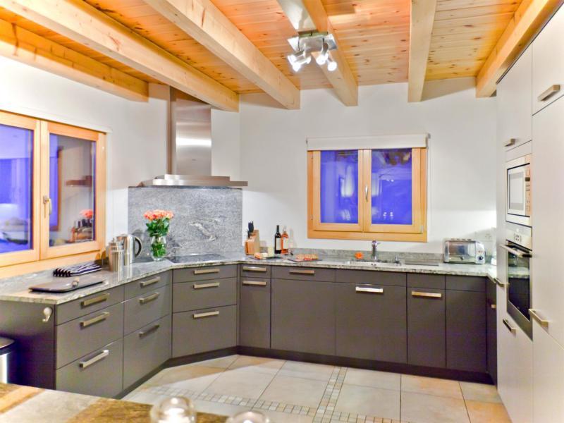 Rent in ski resort Chalet Teychenne - Thyon - Kitchen