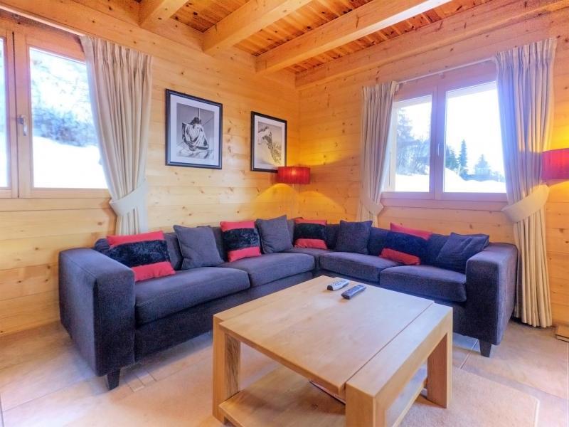 Alquiler al esquí Chalet Teychenne - Thyon - Sofá