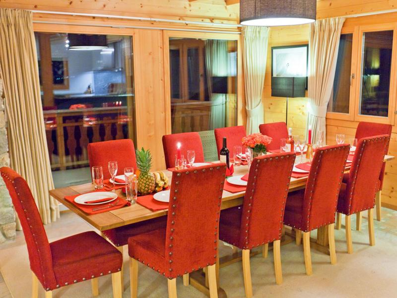 Location au ski Chalet Teychenne - Thyon - Table