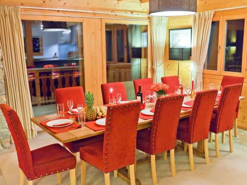 Location au ski Chalet Teychenne - Thyon - Table