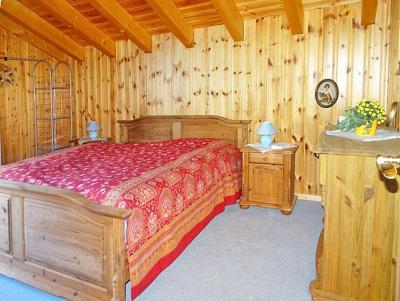 Rent in ski resort Chalet Albert - Thyon - Bedroom under mansard