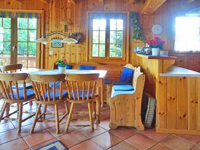 Rent in ski resort Chalet Albert - Thyon - Dining area