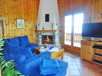 Rent in ski resort Chalet Albert - Thyon - Fireplace