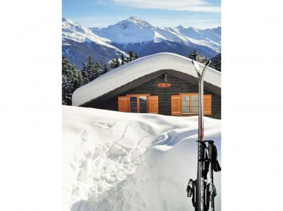 Rent in ski resort Chalet Altitude 1900 - Thyon - Winter outside