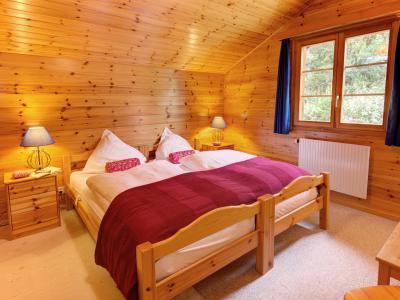 Rent in ski resort Chalet Altitude 1900 - Thyon - Bedroom