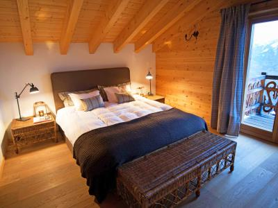 Location au ski Chalet Aurore - Thyon - Chambre mansardée