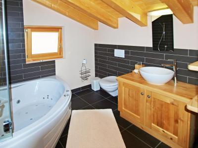 Location au ski Chalet Aurore - Thyon - Salle de bains