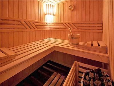 Location au ski Chalet Aurore - Thyon - Sauna