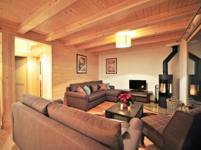 Rent in ski resort Chalet Brock - Thyon - Living room