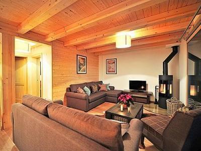 Location au ski Chalet Brock - Thyon - Séjour