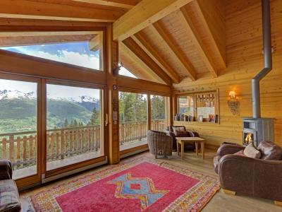 Location au ski Chalet Bryher - Thyon - Séjour