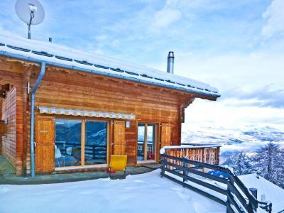 Location au ski Chalet Céline - Thyon - Extérieur hiver