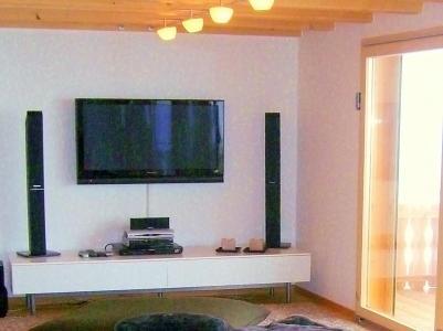Location au ski Chalet Céline - Thyon - Tv à écran plat