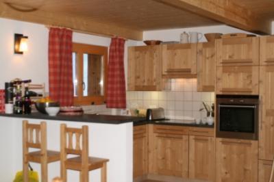 Location au ski Chalet 6 pièces 10 personnes - Chalet Collons 1850 - Thyon - Cuisine ouverte