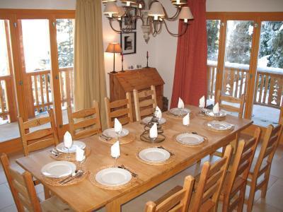 Location au ski Chalet 6 pièces 10 personnes - Chalet Collons 1850 - Thyon - Salle à manger