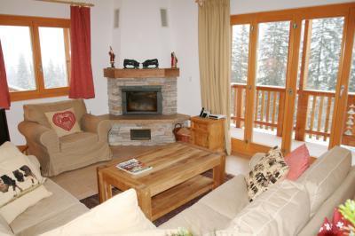 Location au ski Chalet 6 pièces 10 personnes - Chalet Collons 1850 - Thyon - Séjour