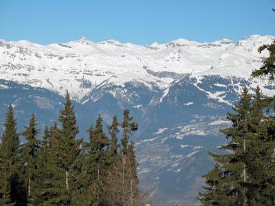 Location au ski Chalet 6 pièces 10 personnes - Chalet Collons 1850 - Thyon - Extérieur hiver