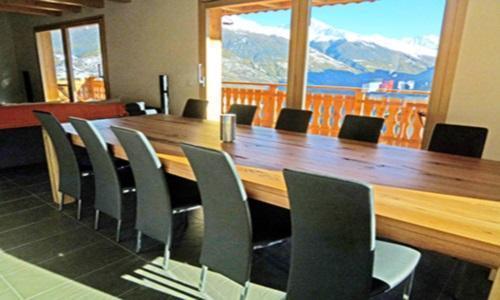 Location au ski Chalet 6 pièces 10 personnes - Chalet Croix Blanche - Thyon - Séjour