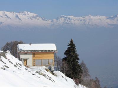 Location au ski Chalet Dargan - Thyon - Extérieur hiver