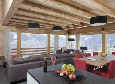 Location au ski Chalet Dargan - Thyon - Appartement