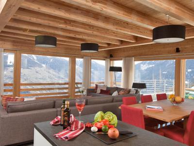 Location au ski Chalet Dargan - Thyon - Salle à manger