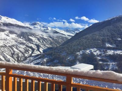 Аренда на лыжном курорте Chalet des Etoiles - Thyon - зимой под открытым небом