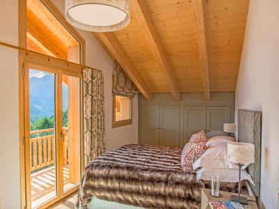Location au ski Chalet des Etoiles - Thyon - Chambre mansardée