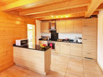 Rent in ski resort Chalet Etoile des 4 Vallées - Thyon - Kitchen