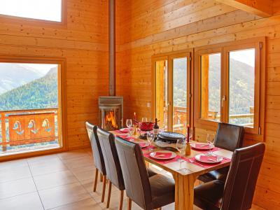 Rent in ski resort Chalet Etoile des 4 Vallées - Thyon - Table