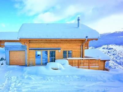 Аренда на лыжном курорте Chalet Falcons Nest - Thyon - зимой под открытым небом