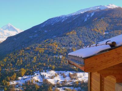 Rent in ski resort Chalet Falcons Nest - Thyon - Winter outside