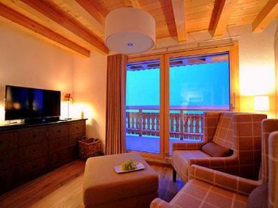 Location au ski Chalet 5 pièces 8 personnes - Chalet Falcons Nest - Thyon - Coin séjour