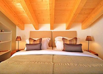Location au ski Chalet 5 pièces 8 personnes - Chalet Falcons Nest - Thyon - Lit double