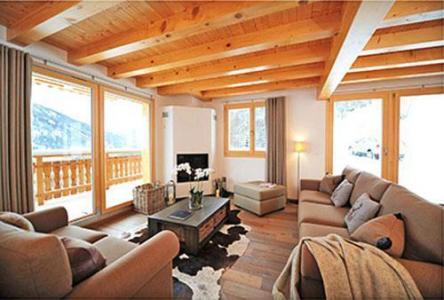 Location au ski Chalet 5 pièces 8 personnes - Chalet Falcons Nest - Thyon - Séjour