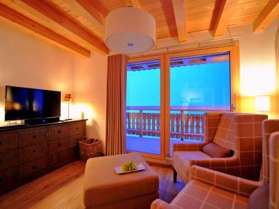 Rent in ski resort Chalet Falcons Nest - Thyon - Living area