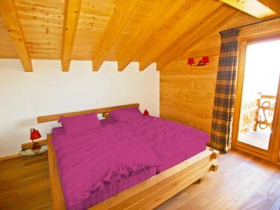 Location au ski Chalet Fleur des Collons - Thyon - Chambre mansardée