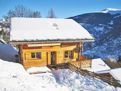 Location au ski Chalet K2 - Thyon - Extérieur hiver