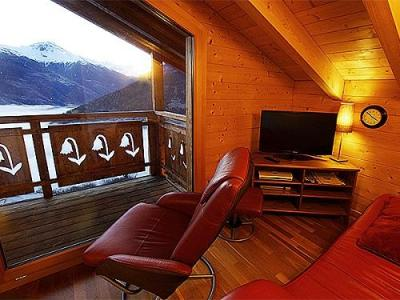 Location au ski Chalet K2 - Thyon - Canapé