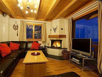 Location au ski Chalet K2 - Thyon - Séjour