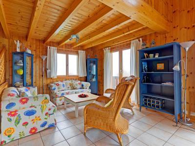 Location au ski Chalet Krokus - Thyon - Canapé