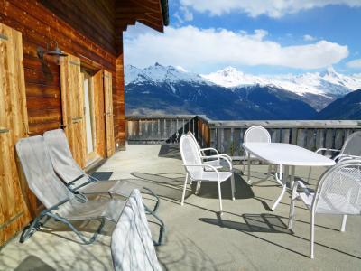 Location au ski Chalet duplex 4 pièces 6 personnes - Chalet Krokus - Thyon - Appartement