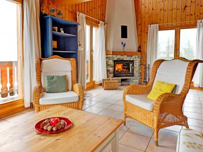 Location au ski Chalet Krokus - Thyon - Séjour