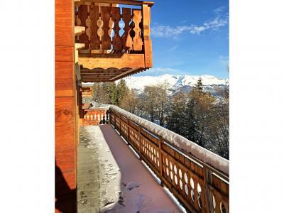 Аренда на лыжном курорте Chalet Marguerite - Thyon - Балкон