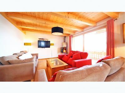 Location au ski Chalet 6 pièces 12 personnes - Chalet Marguerite - Thyon - Séjour