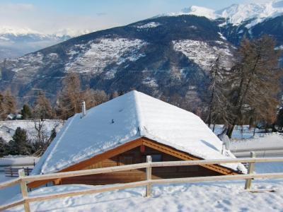 Location au ski Chalet 6 pièces 12 personnes - Chalet Marguerite - Thyon - Extérieur hiver