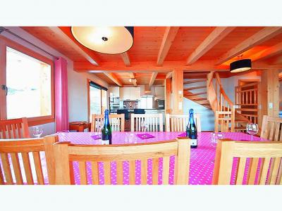 Location au ski Chalet Marguerite - Thyon - Salle à manger