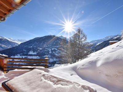 Аренда на лыжном курорте Chalet Mountain Star - Thyon - зимой под открытым небом